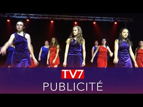 TV7 - Reproduction Jingle Pub TV7 Bordeaux en 4K - Habillage Fictif -Danse- UHD - 2016