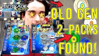 BEYBLADE BURST EVOLUTION OLD GEN 2-PACKS! DRACIEL DRANZER FLAME DRIGER DRAGOON FIGHTER