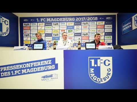 Pressekonferenz 1. FC Magdeburg gegen SC Paderborn 1:0 (0:0)