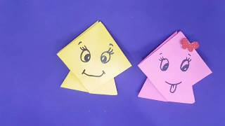 How to make paper origami kite | Kids craft