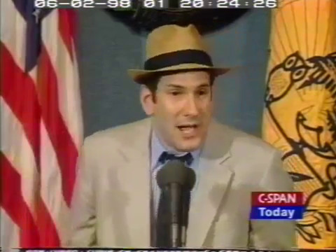Matt Drudge speech to National Press Club 1998