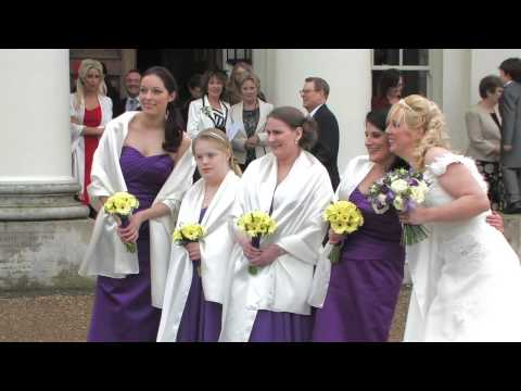 Hylands House Newland Hall wedding highlights
