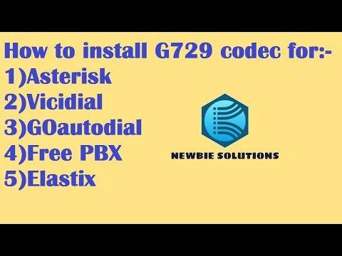 HOW TO INSTALL G729 CODEC FOR ASTERISK,VICIDIAL,GOAUTODIAL,FREEPBX,ELASTIX   TUTORIAL GUIDE   