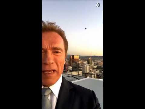 Arnold Snapchat - Get to da choppa!