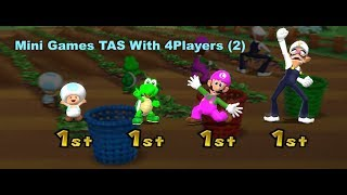 Mario Party 9 - Mini Games [TAS] With 4Players (2)