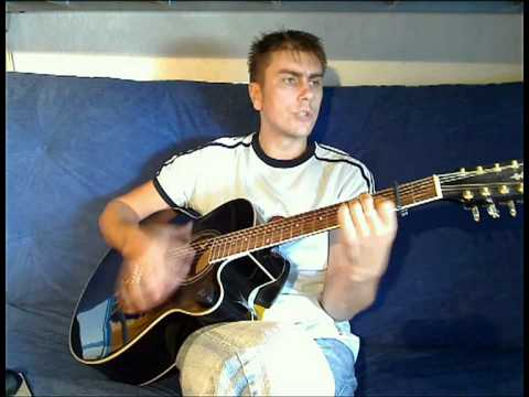 Колян Maroz - В лесу родилась ёлочка... (гитара) Www.maroz.de