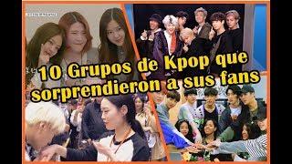 10 Grupos de Kpop que sorprendieron a sus fans😲