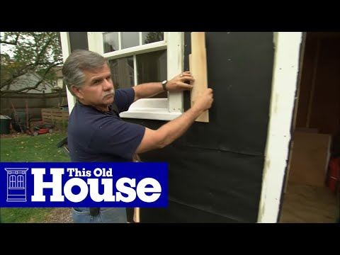 How To Install Fiber Cement Siding This Old House Youtube