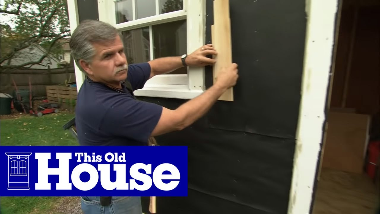 How To Cut And Install Fiber Cement Siding This Old House Youtube