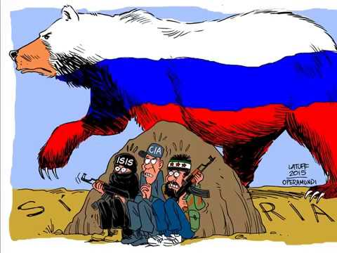 (The PMC of the Russian Federation and the Russian army in Syria)
