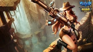Caitlyn Guide Adc I Let's Play League of Legends Safari Caitlyn Skin German Deutsch HD