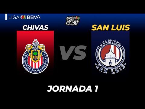 Guadalajara Chivas San Luis Goals And Highlights