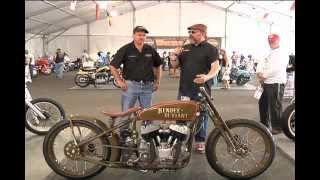 Kiwi Mike talks about his Hendee-Deviant @ 2012 Harley-Davidson Custom Ride-In Bike Show in Sturgis