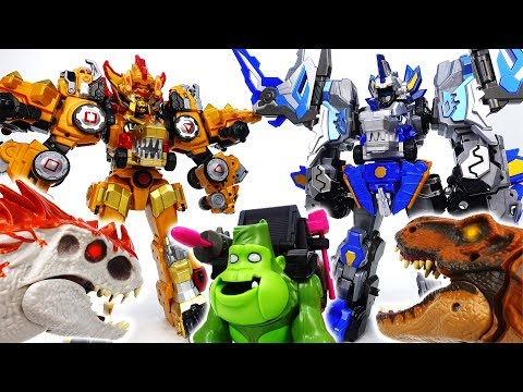 Thumbnail: Go Go Dino-Core 3, Endless Battle Against Monsters & Dinosaurs - ToyMart TV