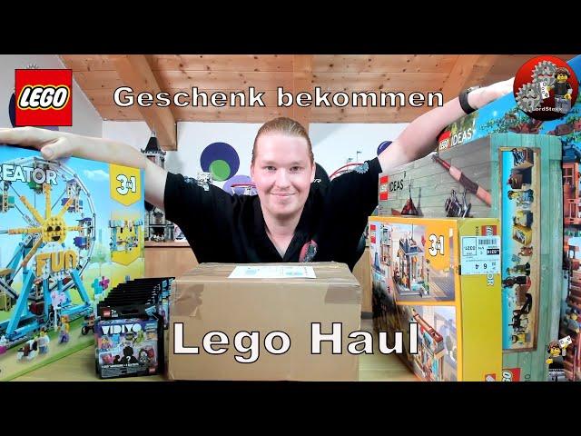 In dem Lego® Haul steckt eine Idee dahinter | Packet bekommen von Austrian Brick Fan, danke Holger