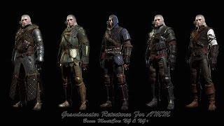Witcher 3 Все сеты гроссмейстерских доспехов и оружия ведьмака