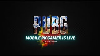 PUBG-M LIVE GAMING | UC GIVEAWAY STREAM | PAYTM ON SCREEN | #iRushClan