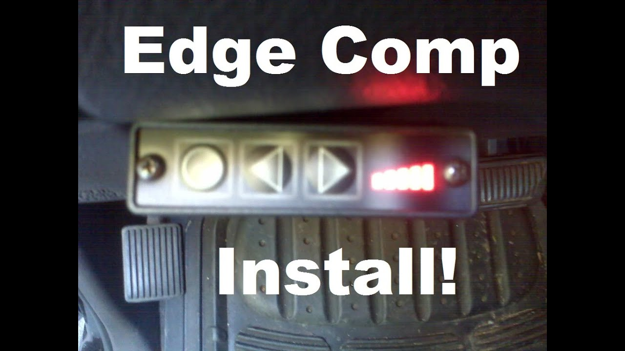 1999 Dodge Cummins 24v - Edge Comp Box Install