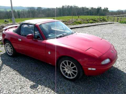 Quot Pepper Quot Mx 5 Mk1 Eunos Roadster Youtube