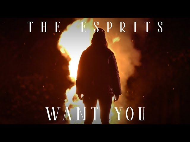 THE ESPRITS - WANT YOU (Official Video 4K)