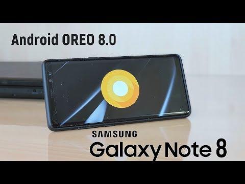 Galaxy Note 8: долгожданное обновление до Android 8.0 Oreo