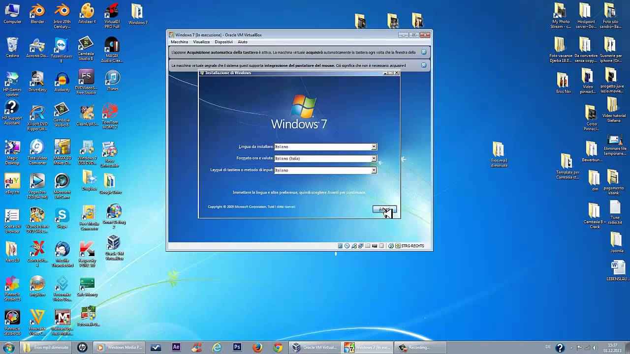 formattare pc hp windows 7