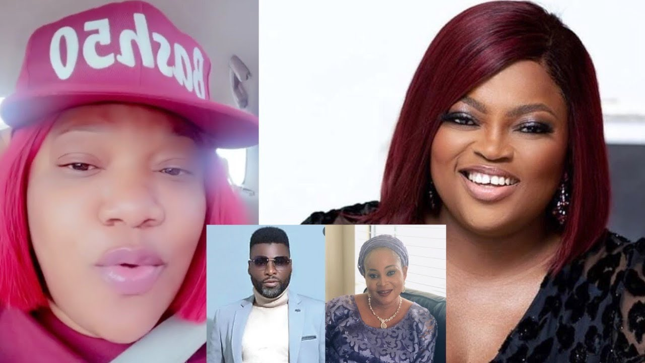 Download Toyin Abraham Reacts As Bukky Wright And Ibrahim Chatta Support Funke Akindele Bello Movie 'Review…