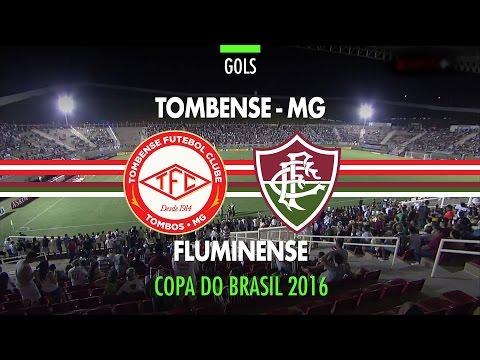 Gols - Tombense 0 x 3 Fluminense - Copa do Brasil - 06/04/2016