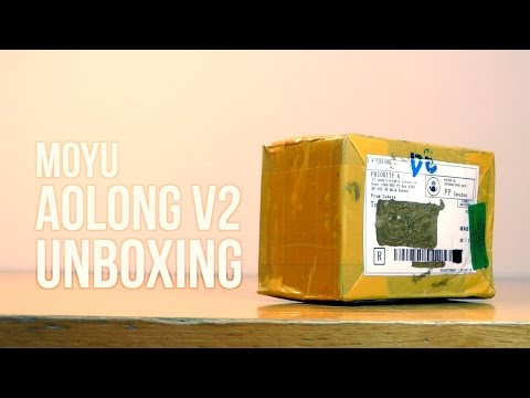 MoYu AoLong v2 [new batch] Unboxing and First Impressions | cubezz.com