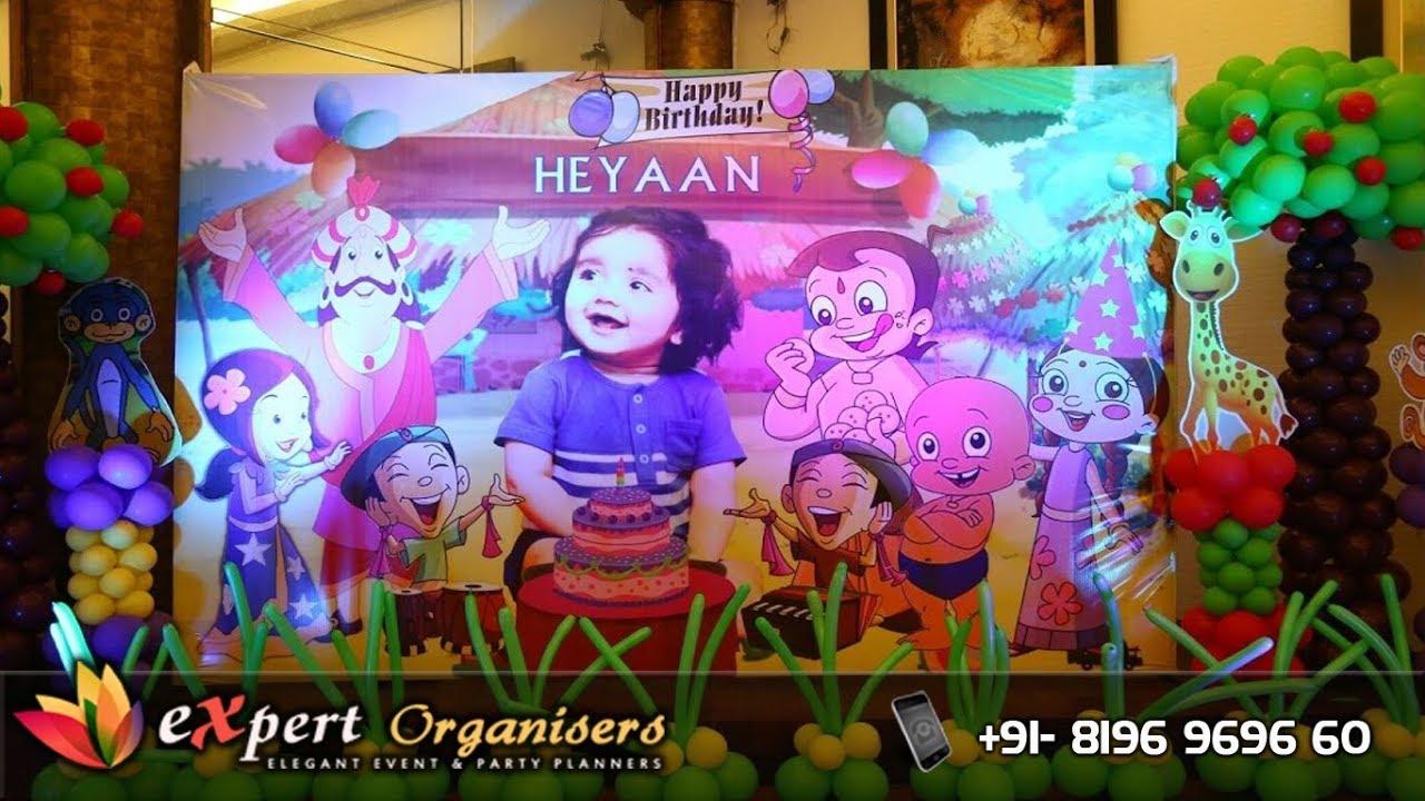 Expert Birthday Planners Hotel East Bourne Shimla Chhota Bheem