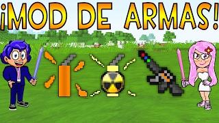 MOD DE ARMAS PARA MINECRAFT | ADMIN WEAPON MOD