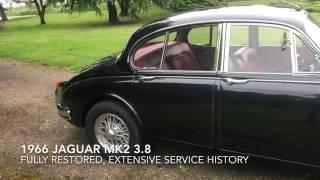 1966 Jaguar Mk2 3.8 for sale