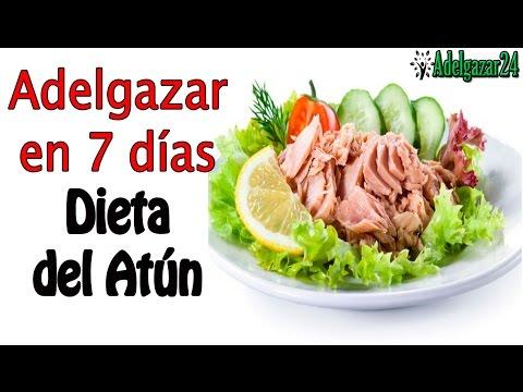 Dieta del Atun. ??Adelgazar 4 kilos en 7 dias??