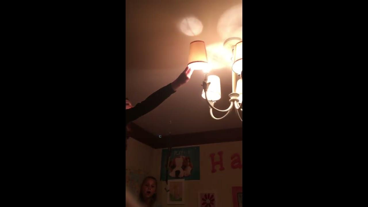 Light bulb exploding😱 - YouTube