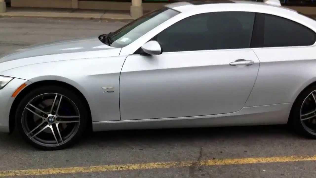BMW I With Window Tint From Customradiocom YouTube - Bmw 35