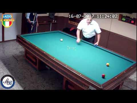 Cisterna vs Fiorletta - Gara Regionale Hand. 1/2/3 CSB Martino's Billiards(LT) 13/16Lug2017