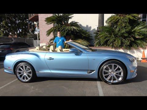 Bentley Continental GTC - это потрясающий люксовый кабриолет
