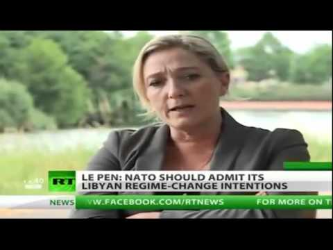 "Libya / France: Marine Le Pen: ""NATO kills hundreds, even thousands of Libyans - BABIES!"""