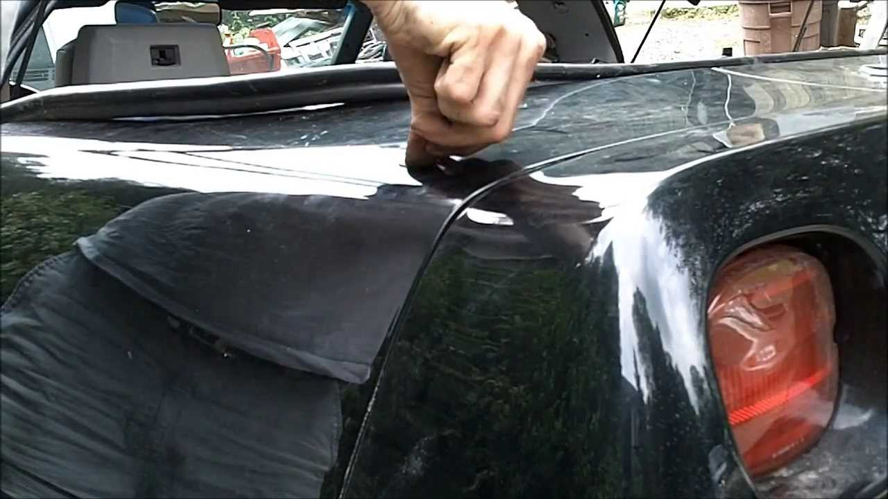 POWER ANTENNA INSTALLATION - C4 CORVETTE