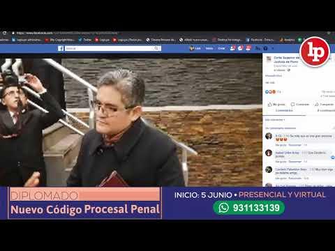 Legis.pe | Conferencia: colaboración eficaz, por José Domingo Pérez