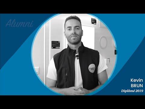 Nos alumnis témoignent : Kévin, promo 2018-2019