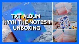 UNBOXING: TXT debut album | BTS HYYH The Notes 1