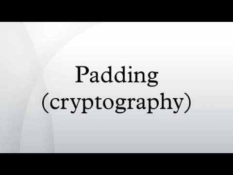 Padding (cryptography)