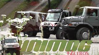 UNIMOG 5023 und 530 + Zetros OFFROAD | Mercedes-Benz Testgelände Ötigheim