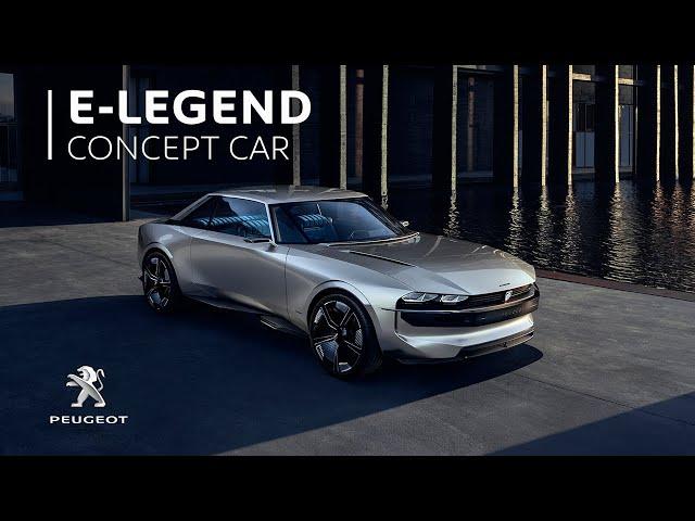 Peugeot e-LEGEND I Concept cars