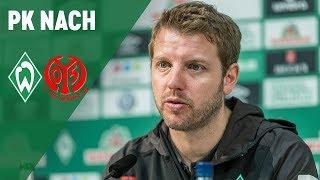 Werder Bremen - FSV Mainz 05 3:1 | Pressekonferenz mit Florian Kohfeldt & Sandro Schwarz