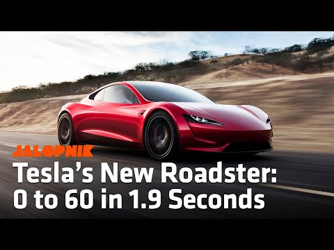Elon Musk Revealed Tesla's New Concept Roadster