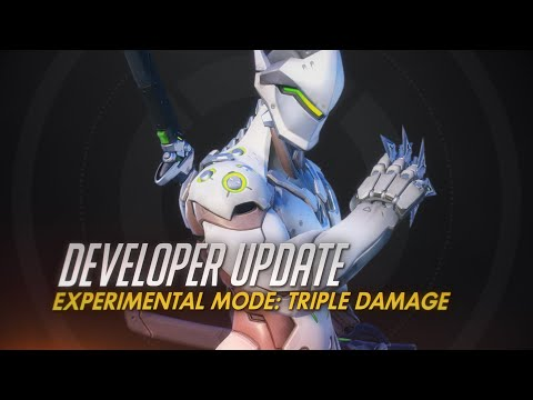 Overwatch's first experimental mode is all about damage dealers