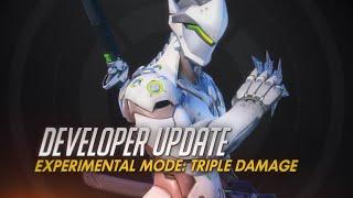 Developer Update | Experimental Mode: Triple Damage | Overwatch