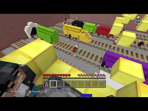 HIDE AND SEEK MINECRAFT MAP SUBWAY SURFERS !